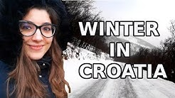 WINTER IN CROATIA   How Cold Can It Get?   Does It Snow On Croatian Islands?