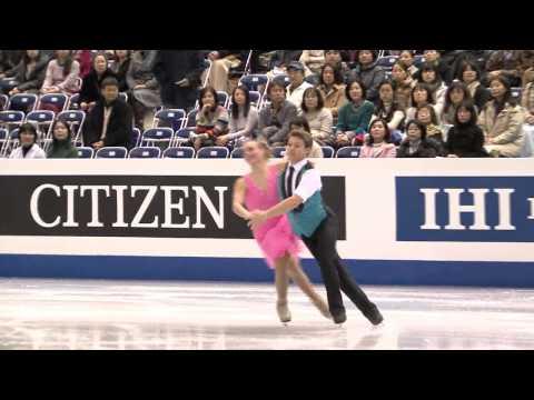 1 R. PARSONS / M. PARSONS (USA) - ISU Grand Prix Final 2013-14 Junior Ice Dance Short Dance
