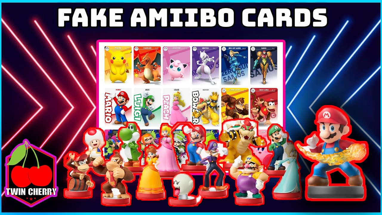 With real amiibo hard to find, Nintendo fans are making and selling