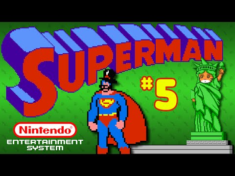 Superman (NES) - Part 5: Purple Asian Leprechaun - Octotiggy