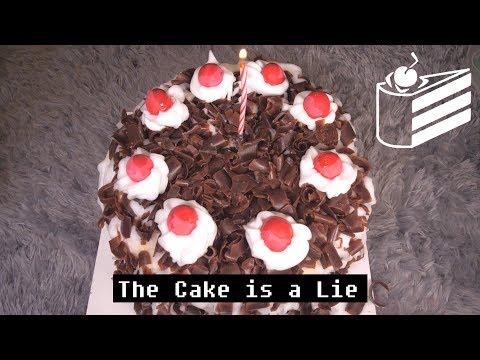 ASMR The Cake is a Lie 포탈케이크
