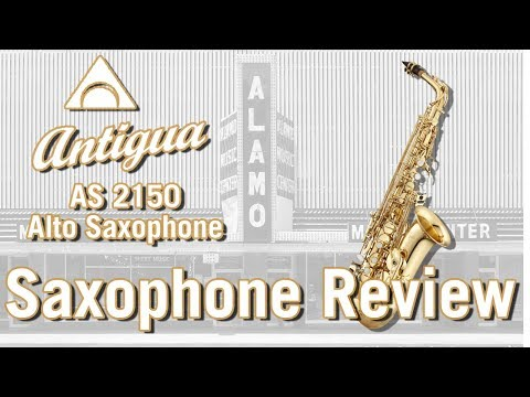 Antigua Winds AS2150 Student Beginner Alto Saxophone Review