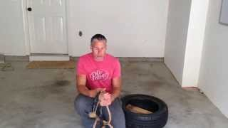 How To Make And Use A Tire Sled For Training