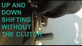Quick video on how to do learn basic clutchless shifting | upshifting and downshifting | see descrip