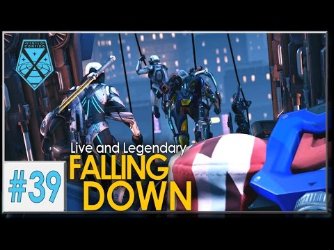 XCOM 2: Live and Legendary #39 - FALLING DOWN