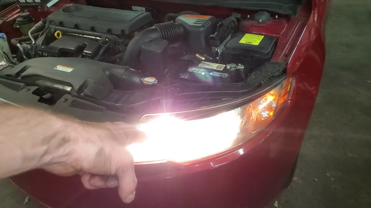2010 Kia Forte Headlight Bulb Replacement Relay And Fuse