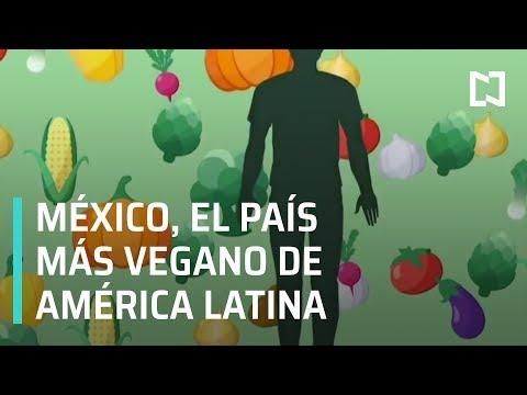 México es el país con más vegetarianos en América Latina - A Las Tres
