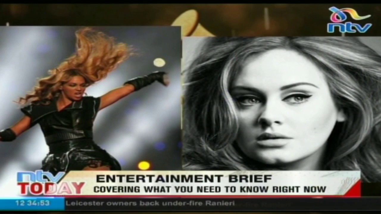 Entertainment News: Beyonce to battle it out with Adele in the 2017 Grammy Awards. #NTVToday