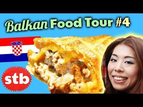 BALKAN FOOD TOUR #4: Trying Bosnian Food in Dubrovnik, Croatia