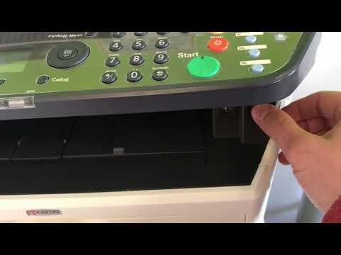 KYOCERA FS1035 FS1135 M2035 M2535 ERROR C3100 - YouTube