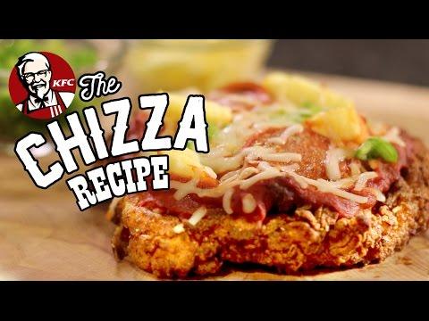 KFC CHIZZA Chicken Pizza