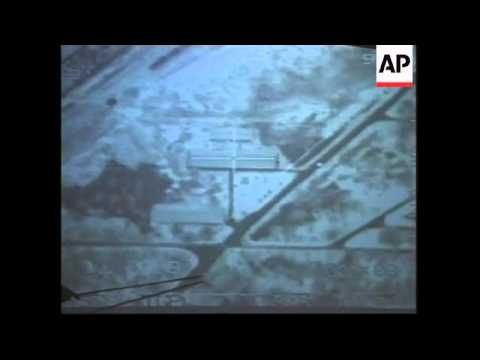 USA: PENTAGON RELEASE VIDEO OF NATO ATTACKS ON YUGOSLAVIA