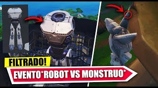 FINAL EVENT *MONSTRUO VS ROBOT* NEW SECRETS PARK 3.30.3 *FILTRATE* FORTNITE BATTLE ROYALE