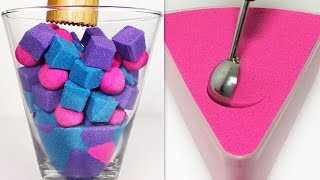 Very Satisfying and Relaxing Compilation 139 Kinetic Sand ASMR