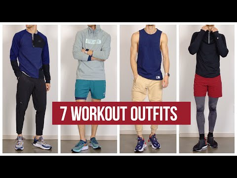 7 Workout Outfits | Men's Gymwear Outfit Inspiration