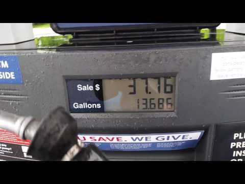 Gas pump ripping me off at Navy Exchange