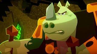 Мультфильмы Тлум - Собез - Большая злая груда металла - Серия 6 - мультфильмы для детей
