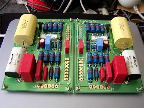 My DIY 6SN7 + 6DN7 MFA Luminesence Tube Pre Amplifier By VR2ZXP