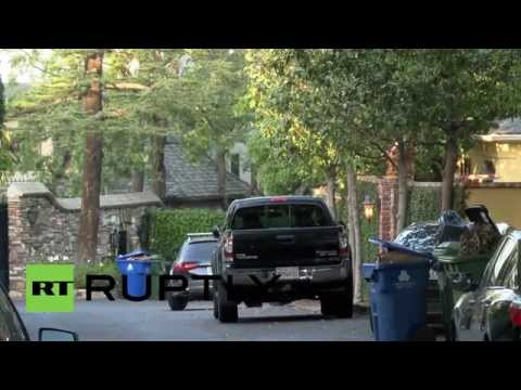 USA: Heir to Getty oil fortune found dead at Hollywood home