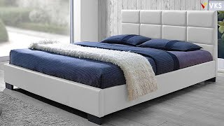 Modern Bed Design Ideas | Bedroom Bed Furniture Designs  | Master Bedroom Storage Bed Design