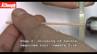 How to make the oars
