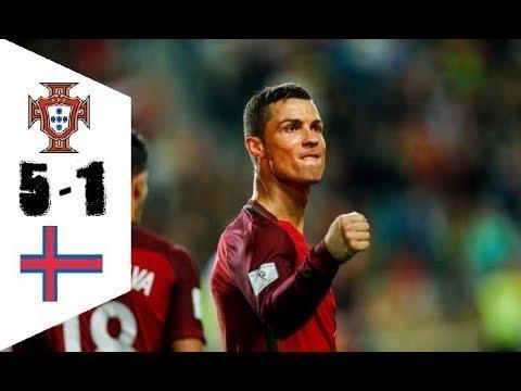 Download Portugal vs Faroe Islands 5-1 - Goals & Highlights - World Cup Qualifiers 31.08.2017 HD