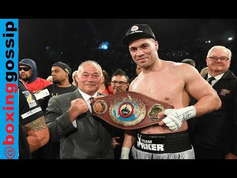 The next day - Joseph Parker Vs Hughie Fury!  118-110 scoring controversy - Heavyweight boxing