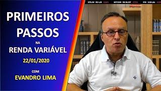 Primeiros Passos na Renda Variável - 22/01/2020 thumbnail
