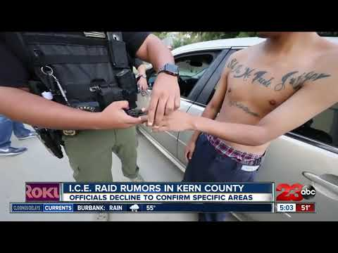 Kern County residents on high alert after rumored ICE raids