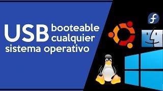 Crear memoria USB Booteable para cualquier sistema operativo | 2016