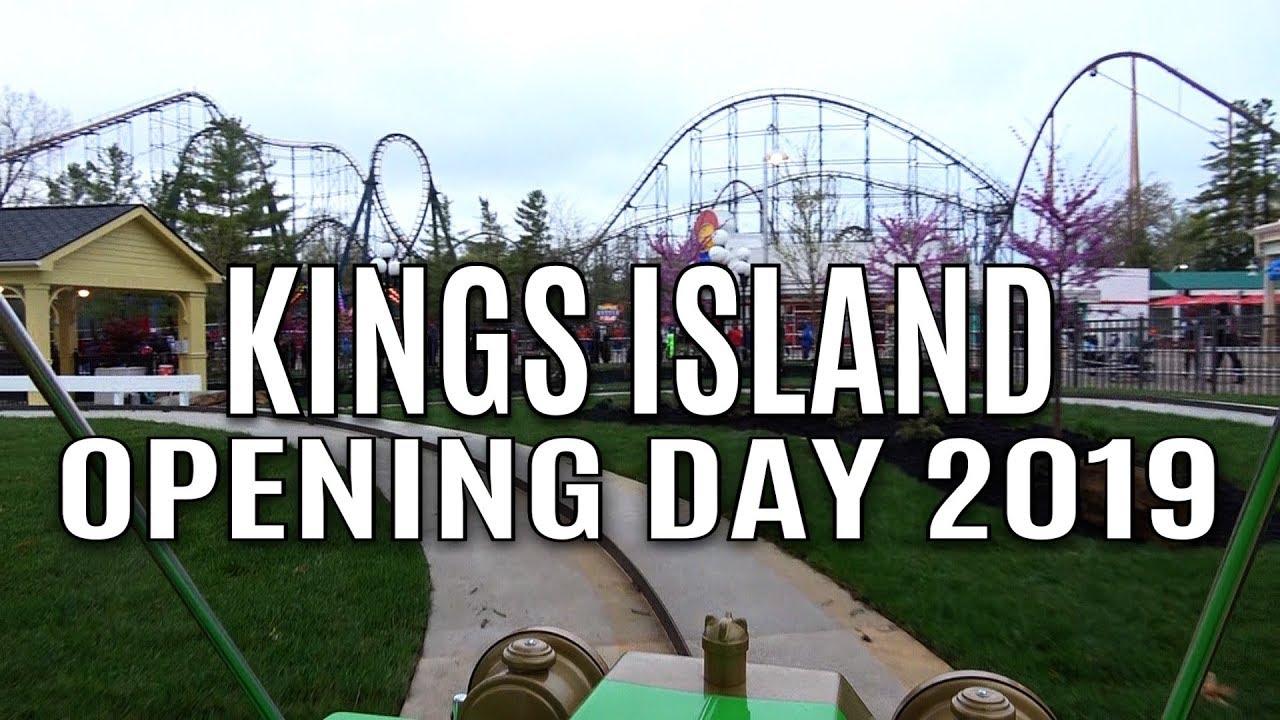 Kings Island OPENING DAY 2019