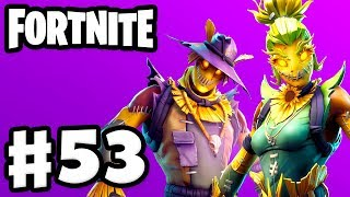 Scary Scarecrow Skins! - Fortnite - Gameplay Partie 53