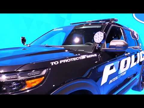 2020 Ford Explorer Police Interceptor FullSys Features | Exterior Interior | First Impression HD