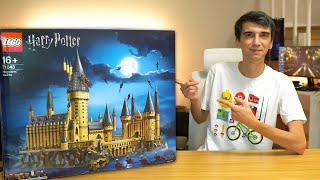 Lego HARRY POTTER KALESİ Yaptım! (Led Modifiyeli)