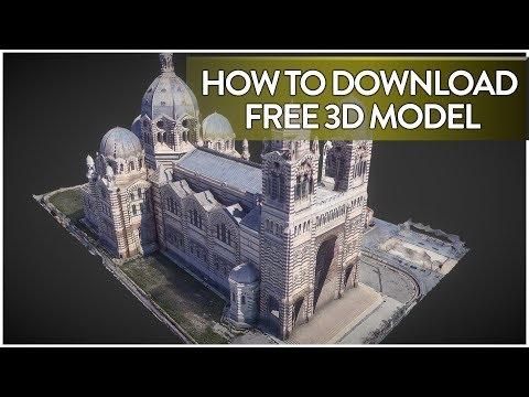 How to Download Free 3D Model|Free3D|3D maya tutorials|Obj