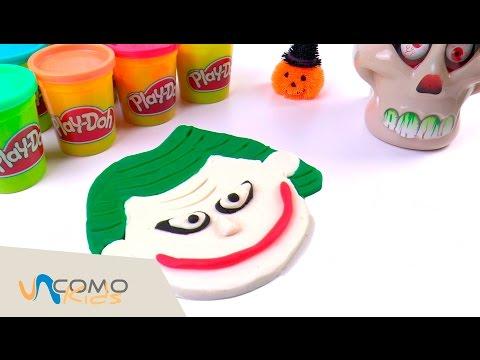 Cómo hacer al Joker con plastilina Play-Doh