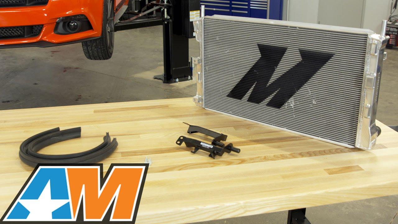 2015 2017 mustang mishimoto performance aluminum radiator ecoboost review