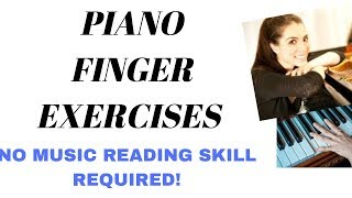 Piano Finger Exercise in C Minor #10