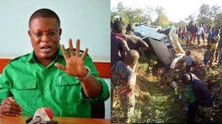 BREAKING:Mbunge Nape Nnauye Amepata Ajali Ya Gari