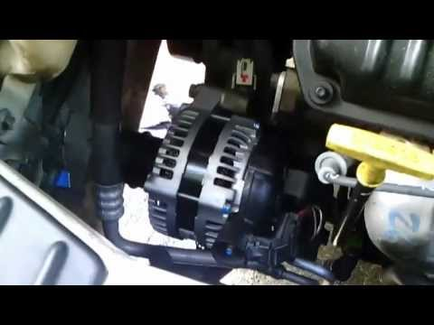 2011 Dodge Avenger Engine Diagram 2002 Chrysler T Amp C Idler Tensioner Alternator Rpl Youtube
