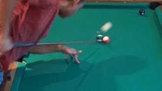 How to Shoot a Legal Jump Shot in Pool (Pool Lessons)