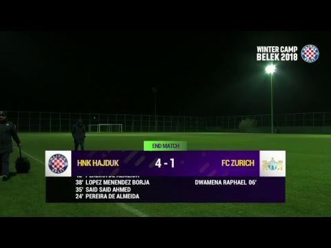 HNK HAJDUK - FC ZURICH