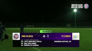 HNK Hajduk Split vs FC Zuerich full match