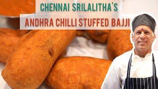 Stuffed Andhra Milagai Bajji Recipe | Andhra Bajii | Andhra Milagai Bajji Latest Indian Recipe