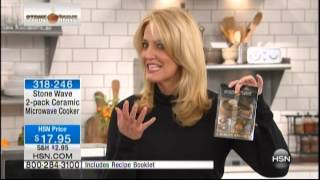 Kelly Diedring Harris presents the Stonewave on Home Shopping Network; 1.27.14