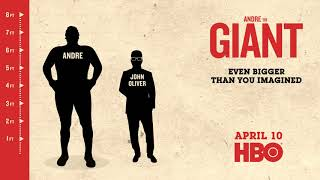 HBO_Andre The Giant Motion Graphics