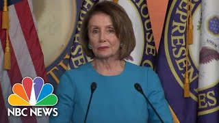 Nancy Pelosi: White House Letter Rejecting Oversight 'Completely Outrageous' | NBC News