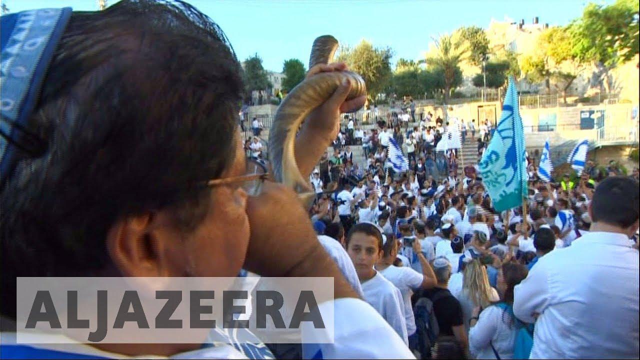 Clashes erupt on Jerusalem Day
