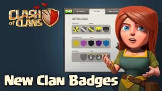 "Clash of Clans - New Update ""New Clan Badges"" Sneak Peek #2"