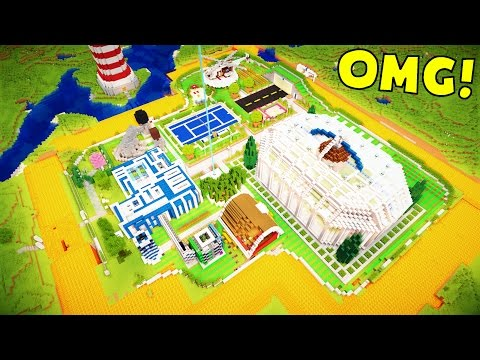 WORLD'S GREATEST MINECRAFT HOUSES!